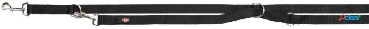 Trixie premium guinzaglio addestramento m-l 3 m / 20 mm nero