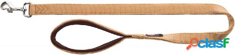 Trixie premium guinzaglio m - l 1 m / 20 mm beige