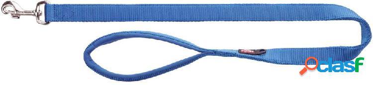 Trixie premium guinzaglio m - l 1 m / 20 mm blu
