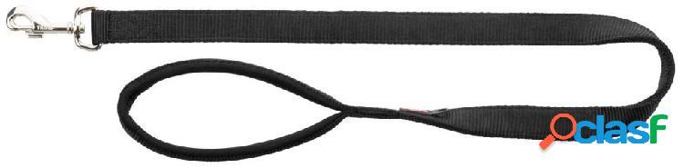 Trixie premium guinzaglio m - l 1 m / 20 mm nero