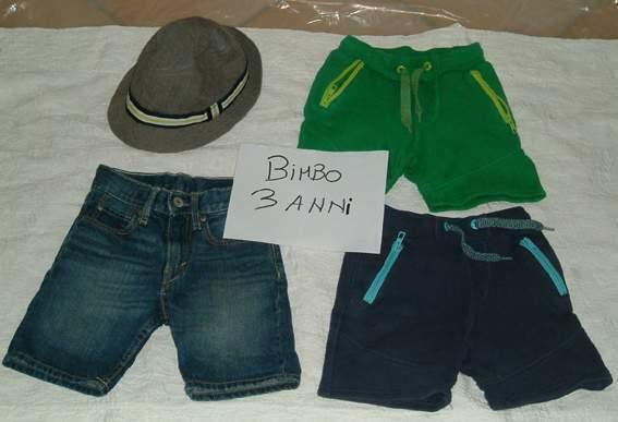 Abbigliamento bimbo 3/4 anni