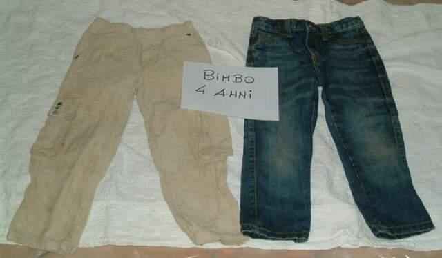 Abbigliamento bimbo 4 anni