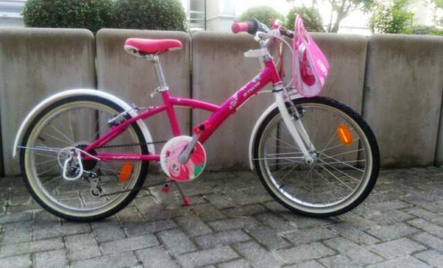 """Bicicletta per bambina da 20"""" per bimbe da 5 a 10 anni."""
