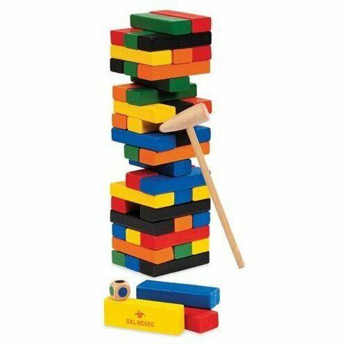 Dal Negro - Torre Colorata con martelletto Gioco