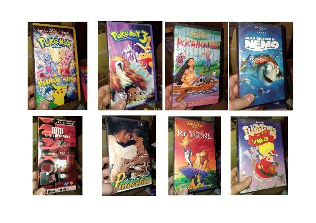 31 VIDEOCASSETTE VHS ORIGINALI