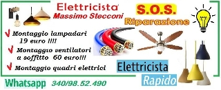 Bravo elettricista per il tuo lampadario a roma