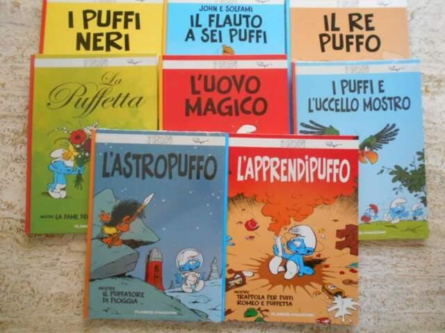 I PUFFI di Peyo LOTTO ed. Planeta De Agostini anche singoli