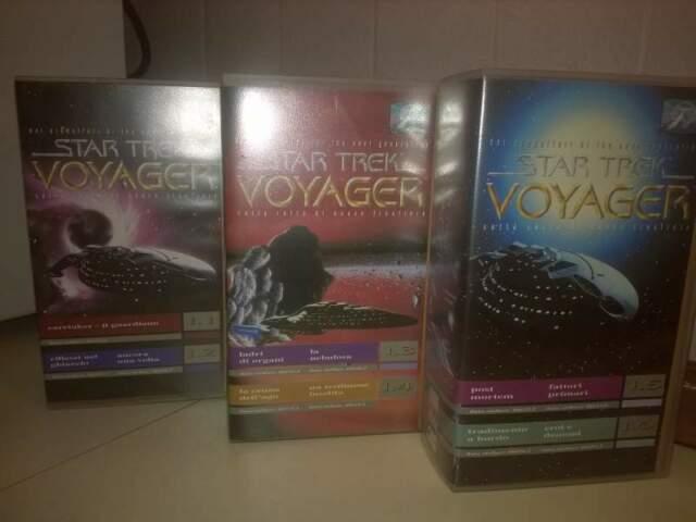 Star trek voyager 6 cassette vhs