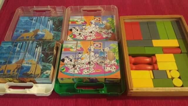 Giochi in legno puzzle Disney per bambini (giocattoli