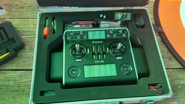 Radio Graupner MC32 HOTT - 2.4Ghz - telemetria - ricevitori
