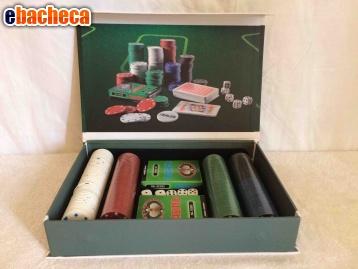 Set poker dal Negro