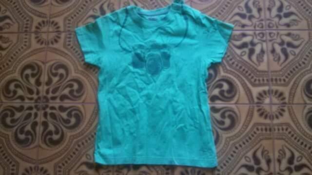 T shirt verde da bimbo e altri vestitini