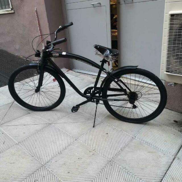 Bicicletta uomo nuova cafe' racer nera