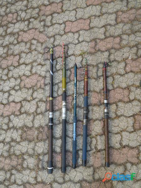 Canne pesca in fibra