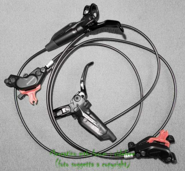 Freni a disco Mountain Bike SRAM Code R 200mm