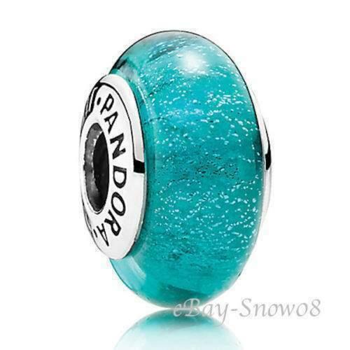 Pandora disney charm jasmine vetro di murano