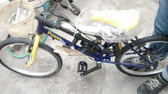 "Bici mountain bike - power bike 20"" panasonic sponsor"