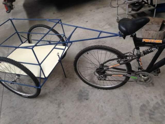 Carrello per bici