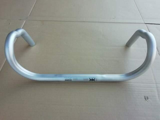 Manubrio Bici da Corsa 44cm - KORE Alluminio Silver