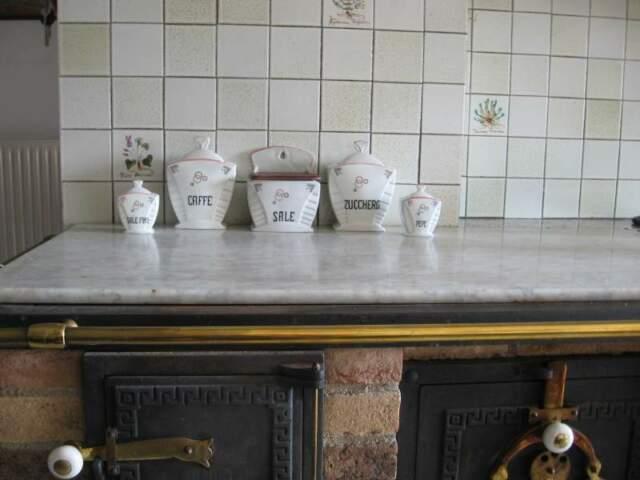 Set da cucina in ceramica