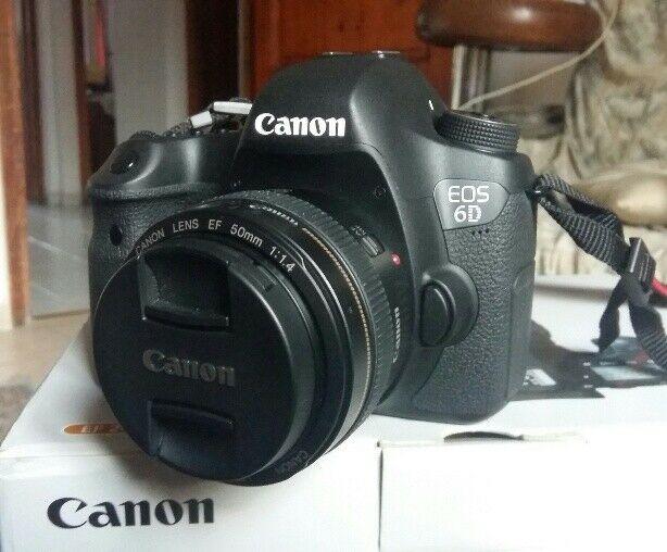 Canon Eos 6D  Scatti Nuova! Full Frame accessori vari