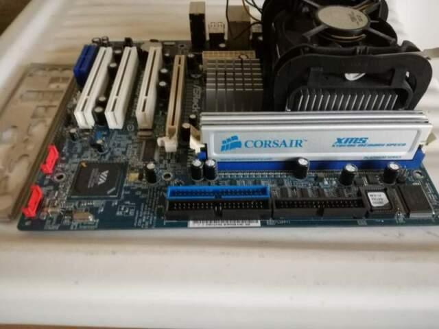Computer pc completo assemblato intel asrock 3.2ghZ