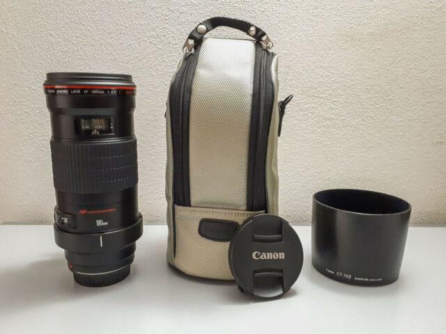 Obiettivo Canon EF 180mm f/3.5 L Macro USM