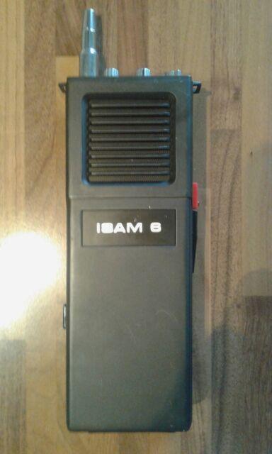 Ricetrasmittente banda cb vintage ISAM 6