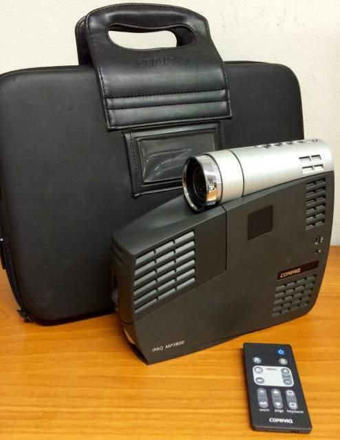 Videoproiettore portatile HP IPAQ MP + valigia e lampada