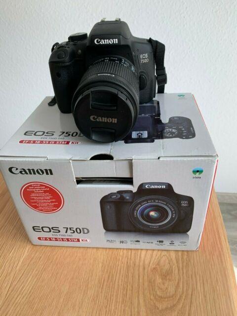 Canon EOS 750D kit mm