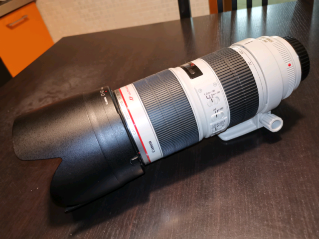 Canon  L 2.8 IS USM seconda serie