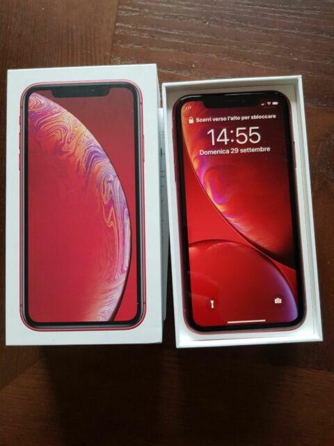 Iphone XR 64gb rosso +2 cover ancora in garanzia