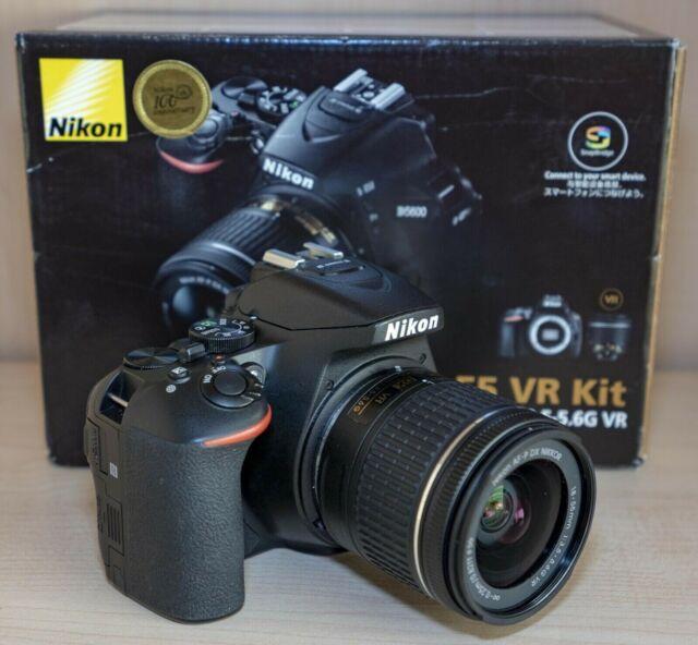 Nikon D con kit  MM VR II