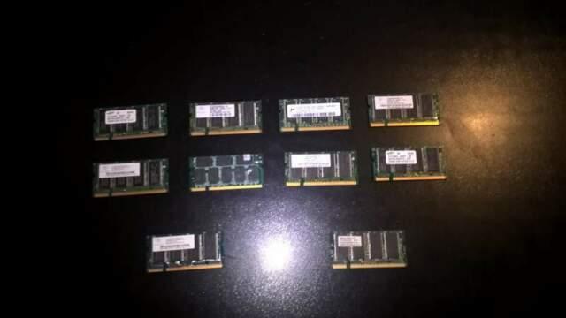 Ram DDR1 Pc Pc per Notebook