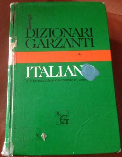 Dizionario garzanti italiano