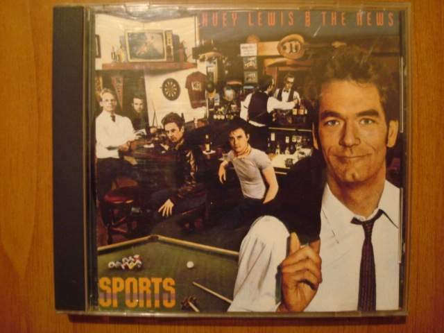 Huey lewis e the news - sports - cd musicale