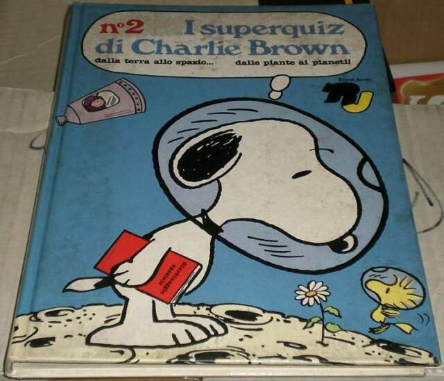 I superquiz di charlie brown, fumetto