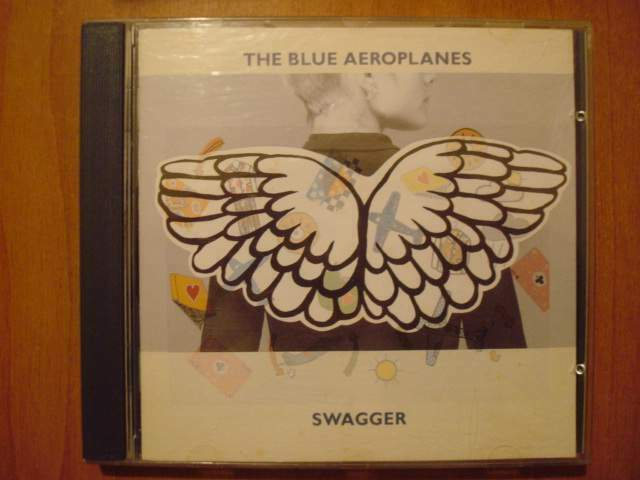 The blue aeroplanes - swagger - cd musicale ottimo