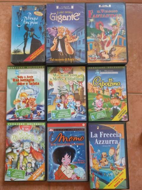 VHS originali Disney, Dreamworks ecc 3€