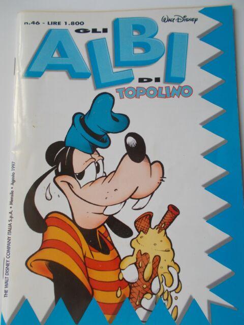 Walt Disney Gli Albi di TOPOLINO n.46 agosto