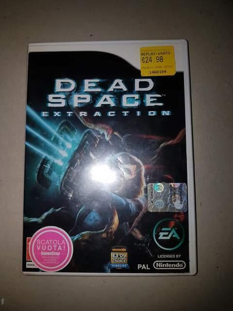 Dead space extraction nintendo wii edizione italiana