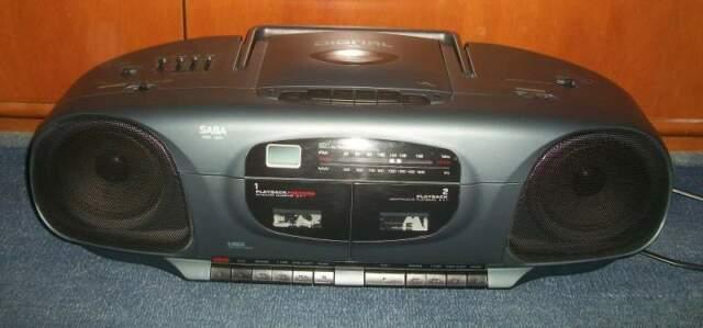 Radio CD portatile vintage, Saba RCD601