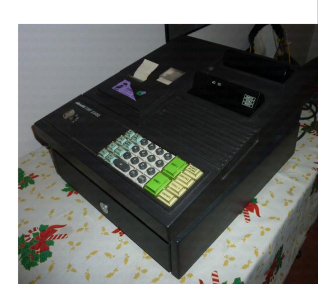 Registratore di cassa Olivetti