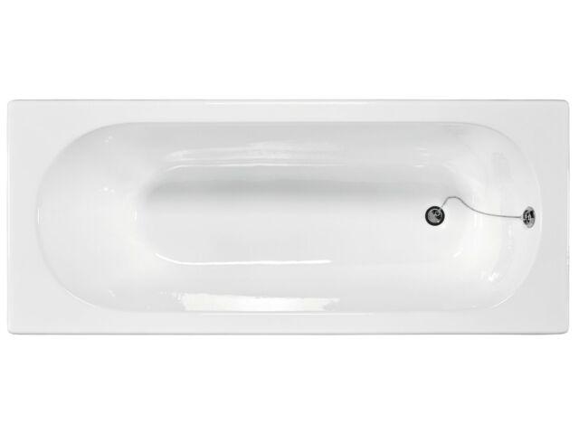 Vasca da bagno in ghisa da cm.160 bianco smaltata al titanio