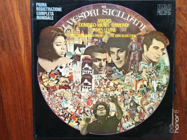 Verdi I Vespri Siciliani RCA Arroyo Domingo Milnes Raimondi