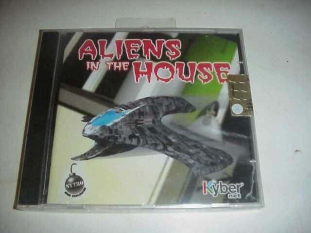 Aliens in the house gioco videogioco pc cd rom nuovo