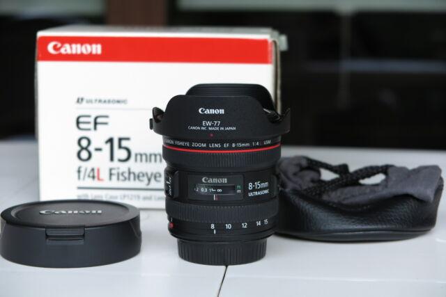 CANON EF 8-15 f 4 L Fisheye USM
