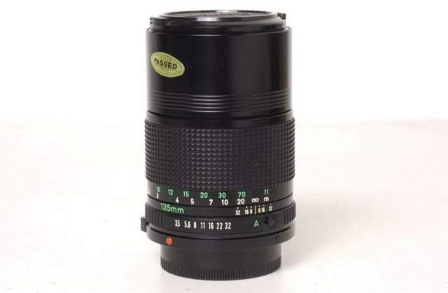 Canon FD 135mm f.3,5 NEW
