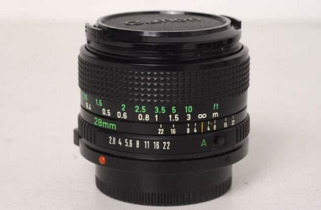 Canon FD 28mm f.2,8 NEW