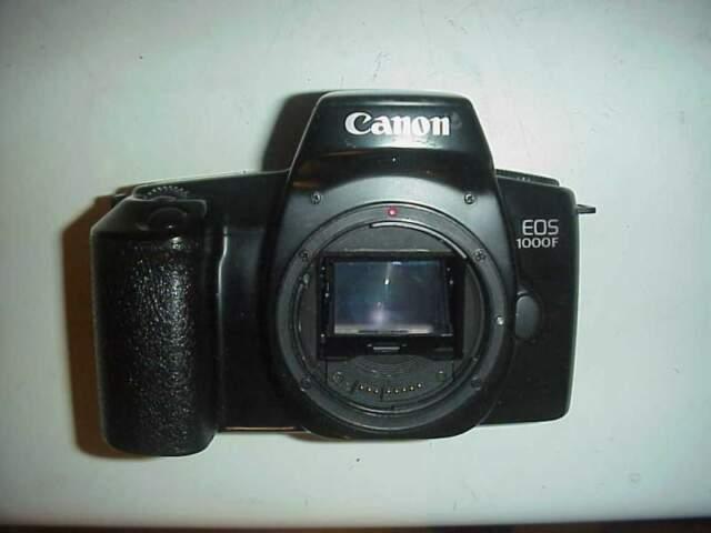 Canon eos f fotocamera reflex 35mm analogica rullini